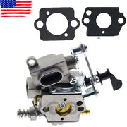 Carburetor Carb For Husqvarna T435 522007601 Chainsaw With 2pcs Gasket 578936901