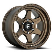 20x9 Fuel D666 Shok Bronze 33 At Wheel Tire Package 5x150 For Toyota Tundra Et1