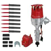 Msd Ignition Kit 84746 Ready-to-run Pro Billet Vacuum Advance For Ford 351w Sbf