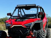 Spike 78-4600 Full Vented Windshield Polaris Rzr Pro And03920