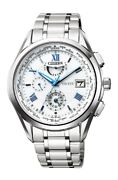 Citizen Exceed Eco-drive Radio Montre Double Direct Vol At9110-58a