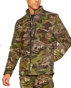 Under Armour Men's Stealth Extreme Wool Forest Hunting Jacket And Pants - L