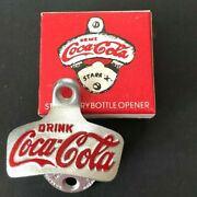 Vintage Coca-cola Wall Mount Bottle Opener Starr X Brown Co W Germany With Box