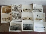 Wwii Official U.s. Marine Corps Photos Set Of 11 Battle Field Photos