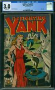 Fighting Yank 23 Cgc 3.0 - Ow Pages - Classic Cover
