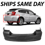 New Primered - Rear Bumper Cover Replacement For 2007-2012 Dodge Caliber 07-12