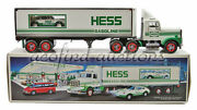 1992 Hess Gasoline Gas And Oil Toy Battery Operated Semi Truck Racer New