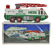 1996 Hess Gasoline Gas And Oil Toy Battery Operated Emergency Truck New N Box