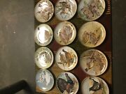 Water Birds Of The World Plates 12 Piece Set Franklin Mint