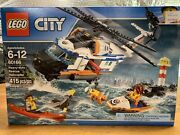 Lego City Coast Guard Heavy-duty Rescue Helicopter 60166 Building Kit 415 Piece