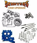 510g Sands Cams Oil Pump Tc3 Cam Plate Pushrods Lifters Hydraulic Engine Kit 88
