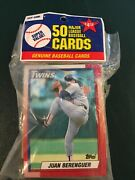 Tops Pack Of Fiftry Baseball Cards New Unopened First Card Juan Berenguer