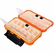 20cm Fishing Tackle Box 28 Grids Compartments 4 Colors Fish Lure Line Hook Box