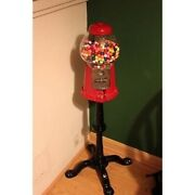 Antique Style Home Gumball Machine Standing Floor Stand Up
