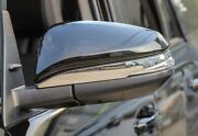 Car Chrome Rearview Side Mirror Cover Trim Emblems For Toyota 4runner 2017-2021