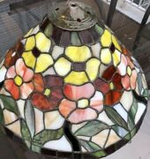 Antique Style Handcrafted Stained Glass Ceiling Light 21andrdquo