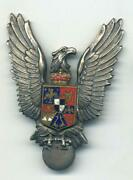 Wwii Rumanian Pilot's Badge As Worn By German Luftwaffe Members, And Her Allies