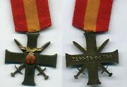 Quisling Norwegian German Front Fighters Cross For Bravery In Russia In Wwii