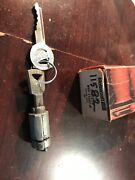 Nos Ignition Cylinder And 2 Keys 1952-1959 Lincoln 1959 Edsel Sw-278 B9a-11582-a