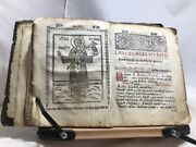 Circa 1700 Orthodox Liturgical Text St. Basil The Great Embossed Leather