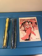 Mel Bays Fun With The Recorder 1971 Beginners Book And 2-plastic Flute Recorders