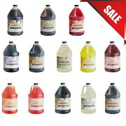 Case Of 4 Narvon 1 Gallon Beverage Concentrate Syrup Different Flavors Soda