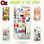 24 Hours In Cities Case For Huawei P40 Lite Quality Painted Cover Weirdland