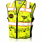 Kwiksafety Uncle Willyand039s Wall High Vis Reflective Ansi Class 2 Safety Vest