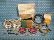 1962 Chevrolet Corvair Nos Guide Back Up Lamp Light Kit 985183 See Ad
