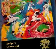 Centennial100 Yrs Of Dodgers Baseball Year Book Includes 2 1964 Cards