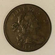 1803 Draped Bust Copper Large Cent. Exta Fine Visiable Curls, Clear Date.