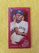 2019 Vladimir Guerrero Jr. Rookie Rc Topps Allen And Ginter X 192 Red /5 Rare