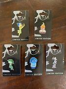Pixar Studio Store Inside Out Joy Anger Sadness Disgust Fear Le Disney Pins 5