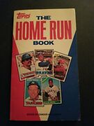 Topps The Home Run Book 1981 Edition Mantle Aaron Mays Ruth Soft Cover