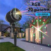 Outdoor Laser Full Colors Rgb Patterns Holiday Party Decoration Light Xmas Show
