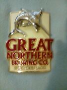 Brewry Collectablegreat Northern Brewing Beer , Bar Tap Top , Metal Decal Badge