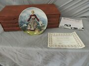 8 The Sound Of Music Collectors Plates Knowles Limited Edition W/ Case