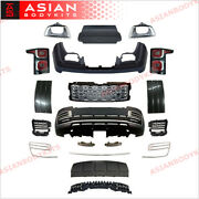 Body Kit For Range Rover Vogue L405 2018+ Sva Bumper Front Grille Tail Lights