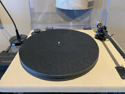 Gold Note Valore 425 Plus Turntable In Beige Leather With Cartridge