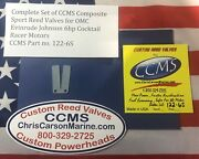 Ccms Omc Johnson Evinrude Sport Outboard Reeds 6hp Cocktail Racer