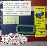 Ccms Yamaha Sport Outboard Reed Valve And Intake Stuffer Kit 150-200hp Carb.