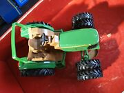 John Deere Compact Utility Toy Tractor Dual Front Tires Jd Farm Country