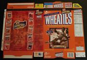 Wheaties Box Factory Flat Unfolded 50th Anniversary Jackie Robinson Dodgers Mint