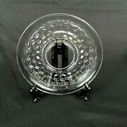 Fostoria American Clear Cube Saucer Only