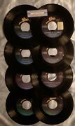 Ricky Skaggs 45 Rpm Single Vinyl Lot Of 8 Records Country Music