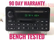 Fo612 04-05 Ford Expedition Radio Am Fm Cd Cassette Player 4l1t-18c868-ab