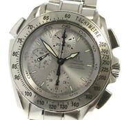 Omega Speedmaster 3540.80 Split Seconds Silver Dial Automatic Menand039s Watch_540791