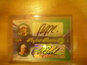 Leaf Tennis Ace Authentic Andy Roddick Mark Knowles Dual Autographed Auto 1/1
