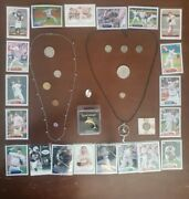 Vintage Junk Drawer-us Silver Coinsover 35 Grams Necklace Additional Coins +