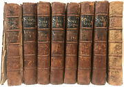 Leather Setthe Spectator First Edition 1712 Complete Antiquarian Rare Gift